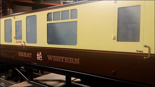 GWR livery and detailing
