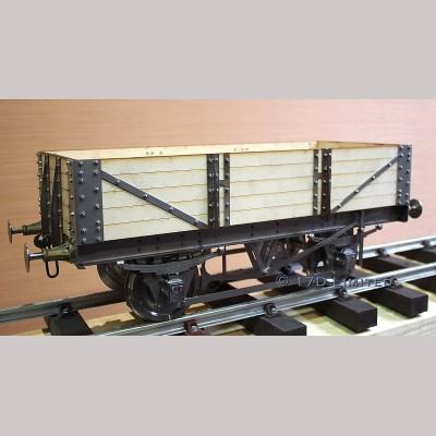 5 Inch Gauge 5 Plank Wagon Body Kit