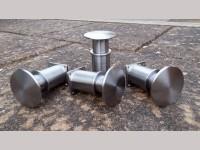 10¼ inch gauge: Set of 4 LMS / BR Locomotive Buffers (Turton & Platt type)