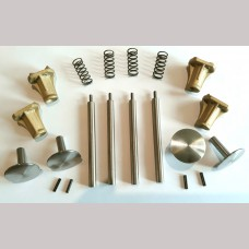 5 inch gauge:  Buffers, Complete RCH Sprung Buffer Kit - Set of 4