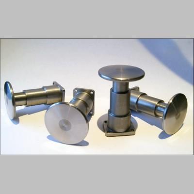 7¼ inch gauge: Oleo type sprung Wagon Buffers