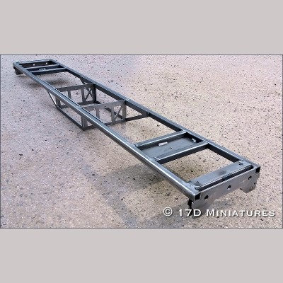 5 inch g. Ride on Coach Kit - Chassis Assembly