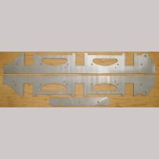 7¼ inch g. Stanier LMS 4000 Gal Tender Chassis Kit