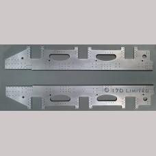 """7 1/4"""" gauge BR Standard Tender Frames"""
