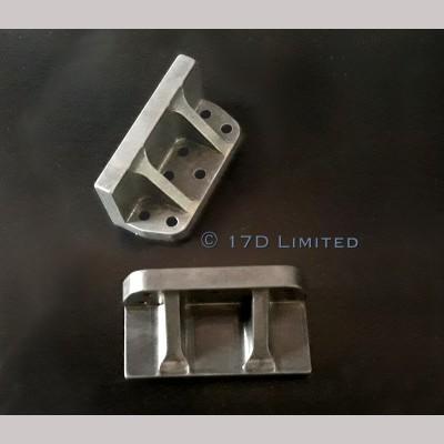 """7 1/4"""" gauge - Bogie Horns for BR Standard Class 4"""