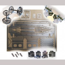 """5"""" g. GWR / BR Loriot M Low Machine Wagon - Complete Kit"""