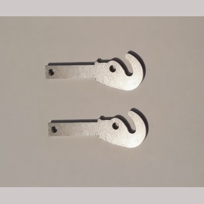 5 inch Gauge: Set 2 Draw Hooks