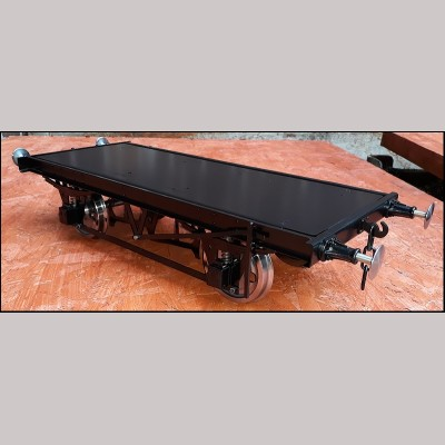 5 inch gauge: Ready to Run wagon chassis (10ft wheelbase version)