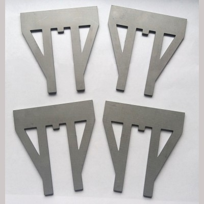 7¼ inch gauge: Laser cut W irons (set of 4)