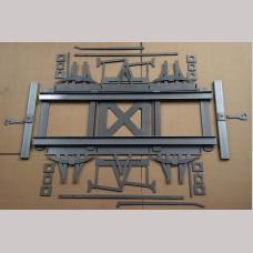 10¼ inch gauge Wagon Chassis kit - 9ft Wheelbase