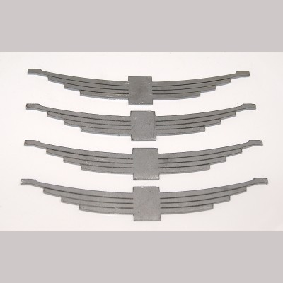 7¼ inch gauge: Wagon Leaf Springs, Set of 4, in 3mm steel