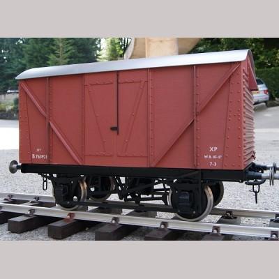 BR Standard Box Van