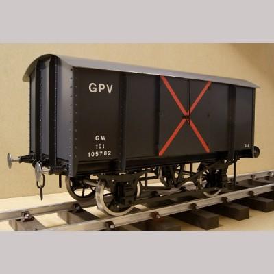 GWR Gunpowder Van