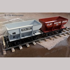 "7 1/4"" gauge Iron Ore Hopper Wagon"