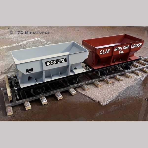 7 1/4 inch gauge Iron Ore Hopper Wagon