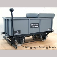 "7 1/4"" gauge Tippler Driving Truck"