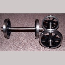5 inch gauge: 3ft 1 inch, Fine Scale, Split Spoke, Wagon Wheel Sets