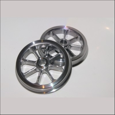 7¼ inch gauge Fully Machined 8 Spoke Wagon Wheel