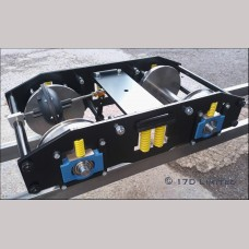 7¼ inch gauge: Braked Heavy Duty Narrow gauge bogie