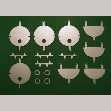Headcode Disc Kit for 7¼ inch gauge