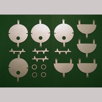 Headcode Disc Kit for 7¼ inch gauge