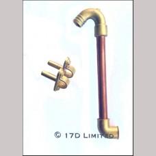 Vacuum Swan Neck and Elbow kit - 7¼ inch gauge