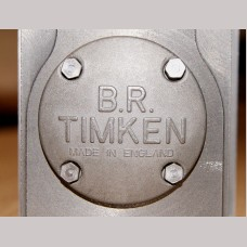 7¼ inch gauge: Timken Axle Box Covers in Stainless Steel