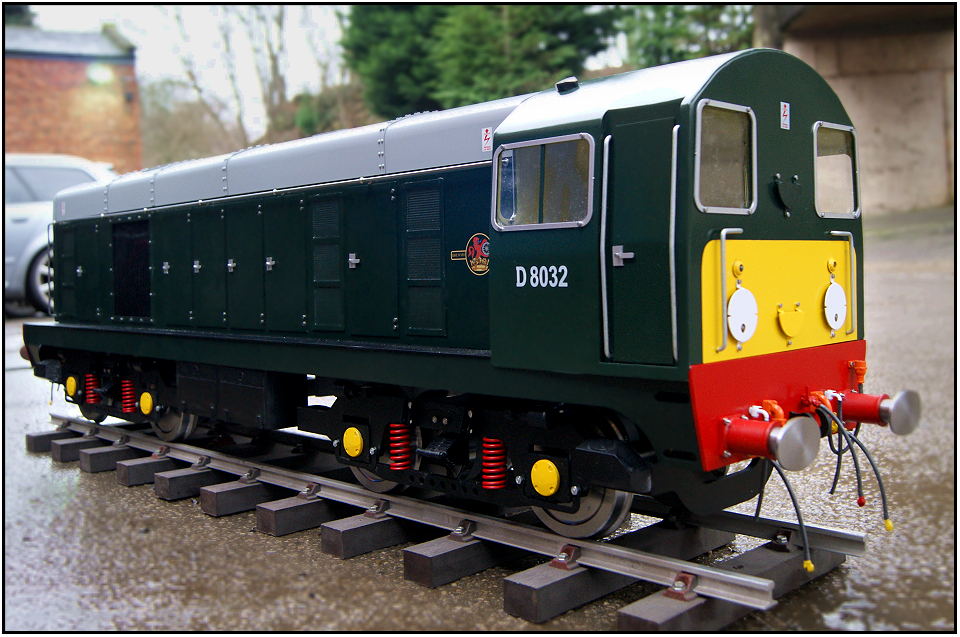 Class 20 Locomotive in 5 inch or 7 25 inch gauge