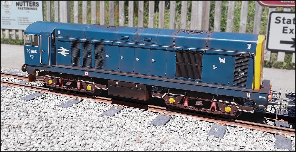 Class 20 Locomotive in 5 inch or 7 25 inch gauge