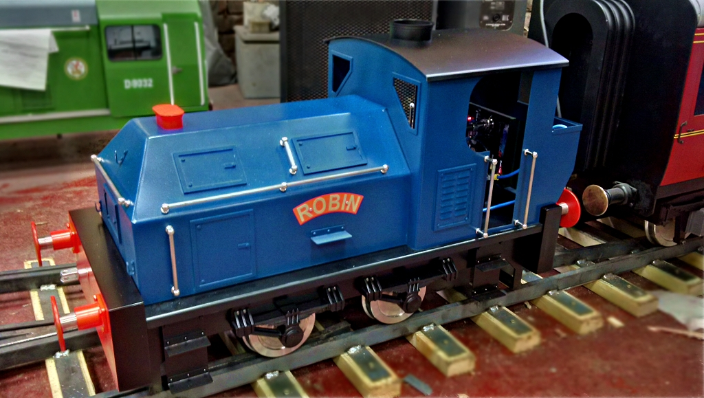 7 1/4 inch gauge Sentinel Locomotive - a bespoke customer build