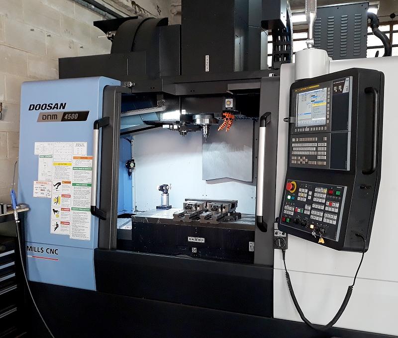 Doosan DNM 4500 with Renishaw Probing system